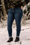 Maryam Button Front Skinny Jeans