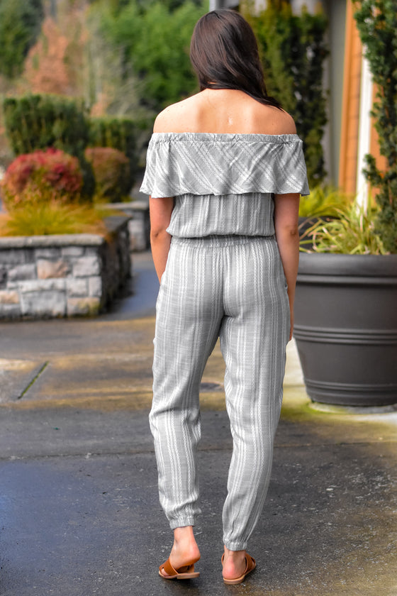 Matilda Off Shoulder Jumpsuit