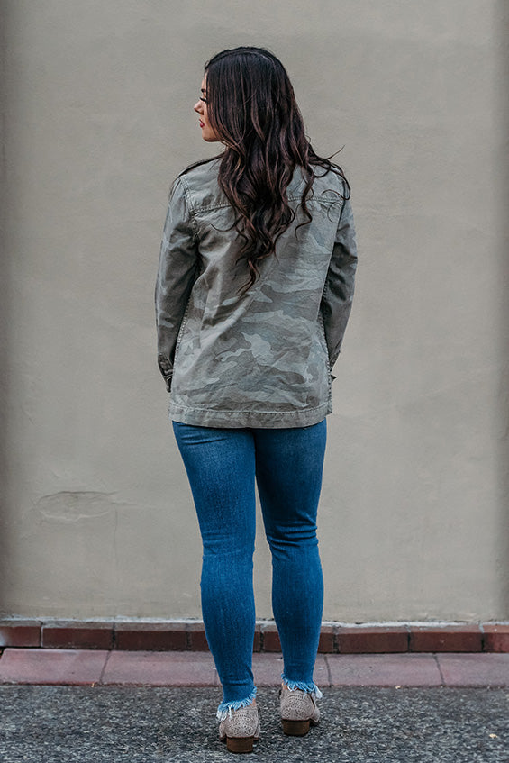 Meadow Faded Camo Canvas Jacket