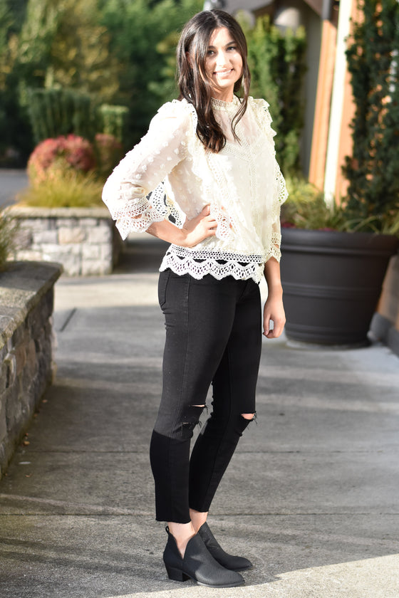 Mikayla Lace Blouse