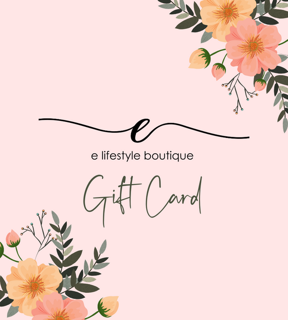 E Lifestyle Boutique Gift Card