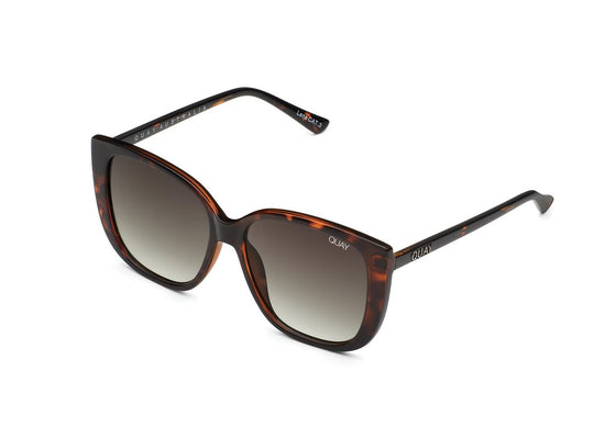 Quay Ever After Sunglasses in Tortoise/Smoke
