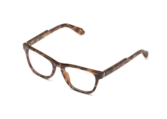 Quay Hardwire Mini Blue Light Glasses in Tortoise