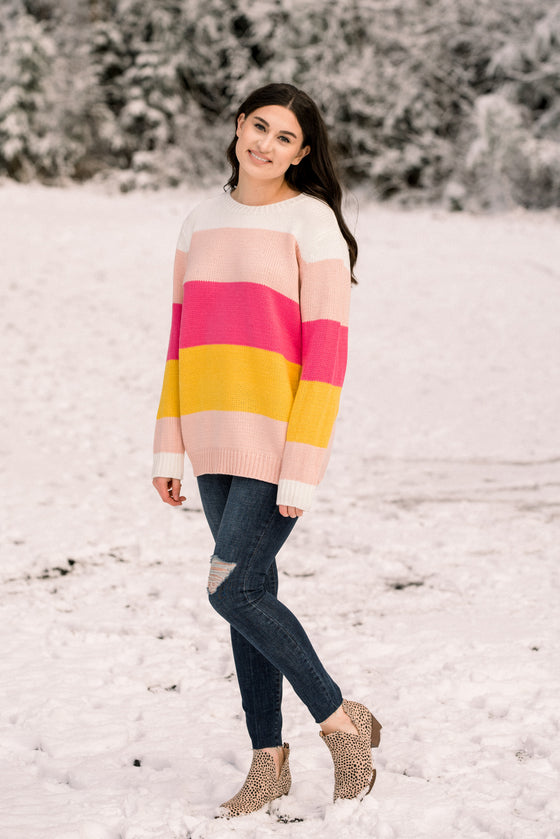 Selah Colorblock Sweater