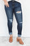 Wynter High Rise Ankle Skinny Jeans