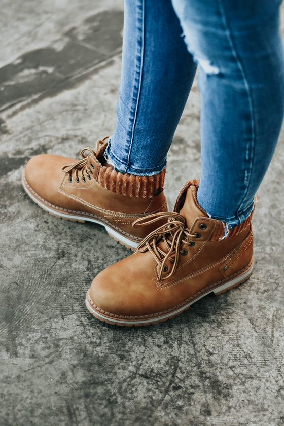 Briella Work Booties