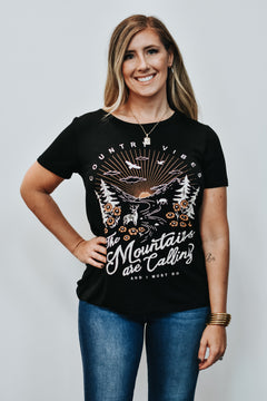 Allie Mountains Graphic Tee
