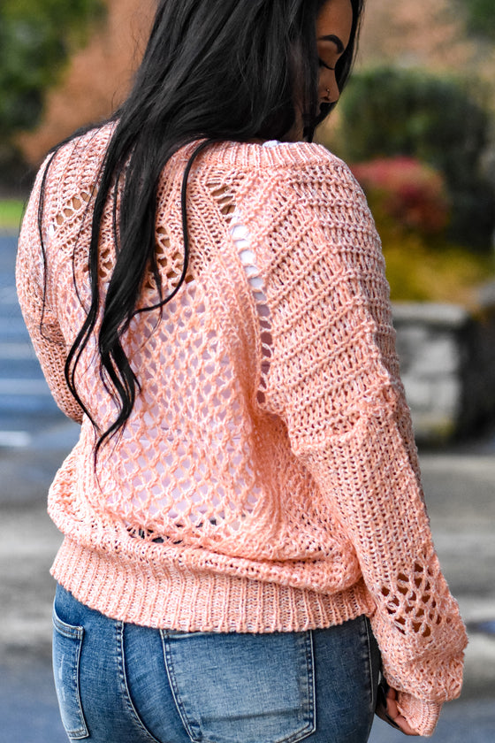 Nia Loose Cable Sweater