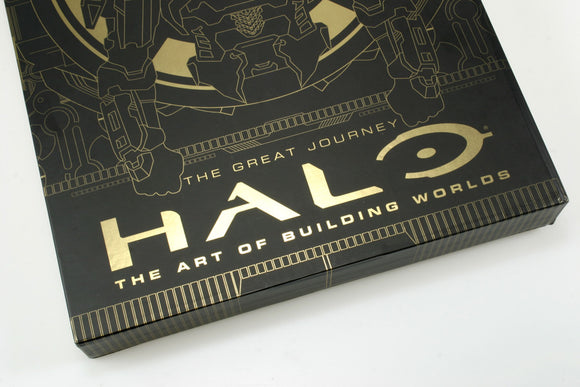Halo: The Art of Building Worlds- The Great Journey- Collectors Edition UNSIGNED