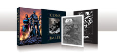 JIM LEE- Icons: The DC Comics & Wildstorm Art of Jim Lee (Limited Edition Slipcase)