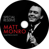 MATT MONRO Special Reserve Collection - Books & CD