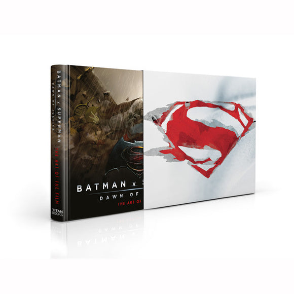 Batman v Superman: Dawn of Justice: The Art of the Film Limited Edition – Signed by Zack Snyder