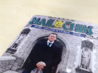 Hail to the Chin UK TOUR EDITION - signed by Bruce Campbell