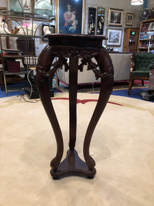 ORNATELY CARVED STAND