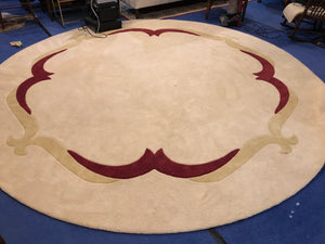 Round area Carpet