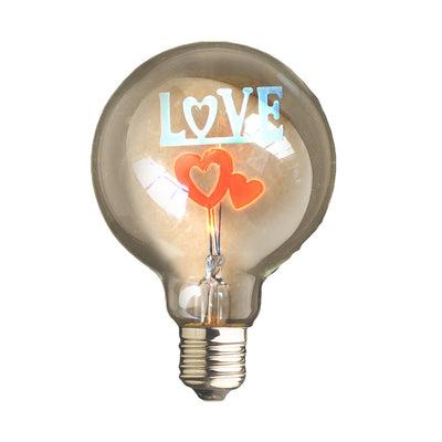 ampoule retro love coeur