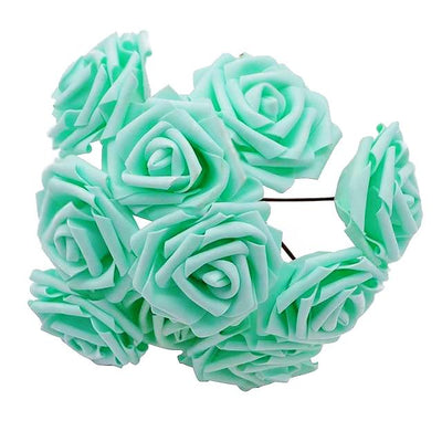 bouquet de rose artificielle vert