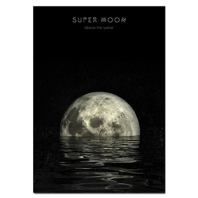Tableau lune poster