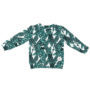 Dotted leaves - Sweatshirt