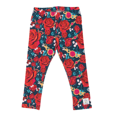 Red roses - Leggings
