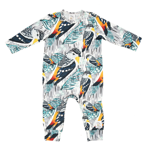 Winter bird - Romper