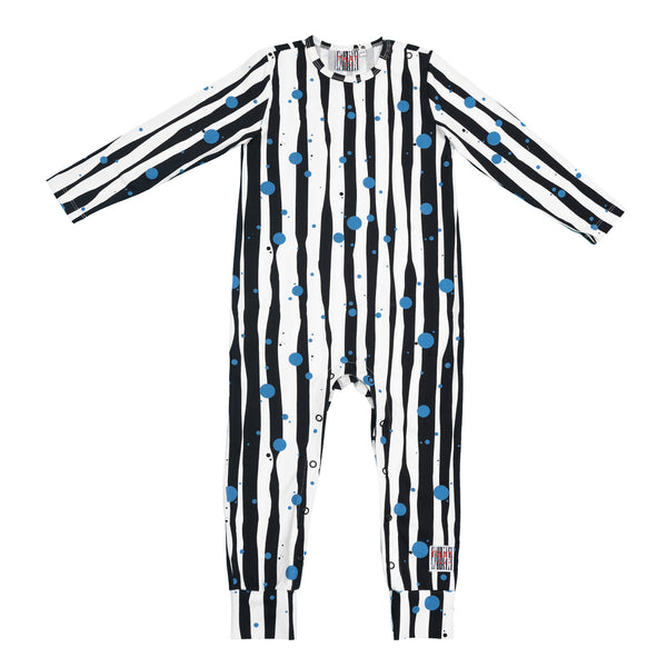 Blue dots - Romper