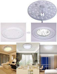 36W LED MODULE CEILING LIGHT RETROFIT WITH MAGNETS