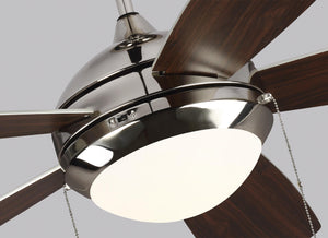 "52"" DISCUS CLASSIC CEILING FAN - BRUSHED STEEL #5DIC52BSD-V1"
