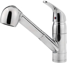 PFIRST SERIES 1-HANDLE PULL-OUT KITCHEN FAUCET POLISHED CHROME - PFISTER #G133-10CC