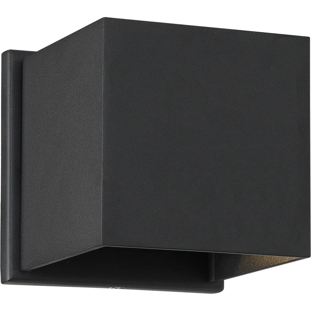 LIGHTGATE - LED SQUARE SCONCE - BLACK FINISH #62-1466