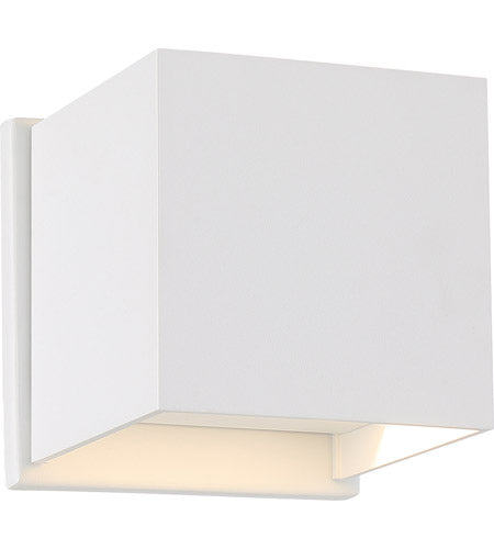LIGHTGATE - LED SQUARE SCONCE - WHITE FINISH #62-1467
