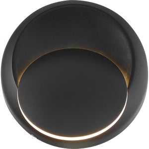 PINION - LED WALL SCONCE - BLACK FINISH #62-1469