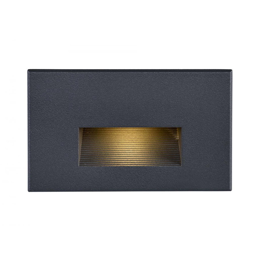 LED HORIZONTAL STEP LIGHT - 5W - 3000K - BRONZE FINISH - 120V #65-403
