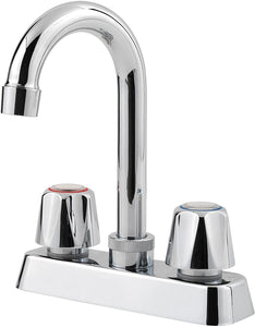 PFIRST SERIES CLASSIC 2-HANDLE BAR & PREP FAUCET POLISHED CHROME - PFISTER #G171-4000