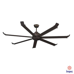 "80"" BIG FAN PLUS+ OIL RUBBED BRONZE #1080-OB"