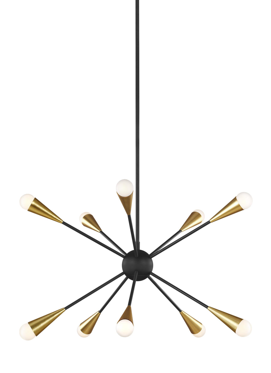 JAX 10- LIGHT CHANDELIER #EC10310MBK