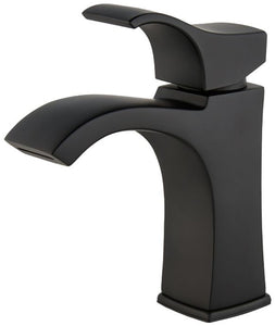 VENTURI SINGLE CONTROL BATHROOM FAUCET WITH PUSH & SEAL™ SPOT DEFENSE MATTE BLACK # LF-042-VNBB