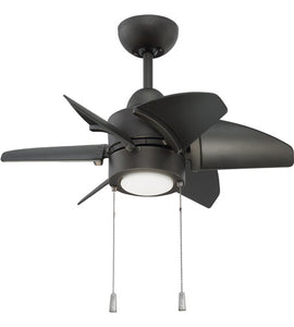 "24"" PROPEL CEILING FAN WITH LIGHTING KIT - BROWN ESPRESSO #PPL24ESP6"