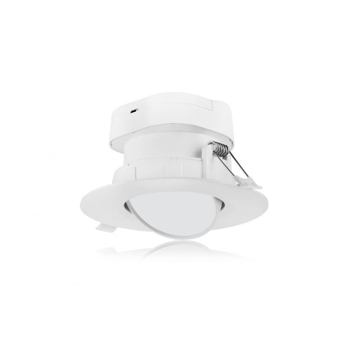 7 WATT LED DIRECT WIRE DOWNLIGHT; GIMBALED; 4 INCH; 5000K; 120 VOLT; DIMMABLE #S11711
