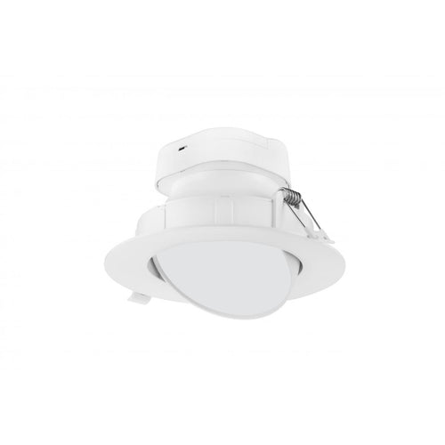 9 WATT LED DIRECT WIRE DOWNLIGHT; GIMBALED; 6 INCH; 5000K; 120 VOLT; DIMMABLE #S11715