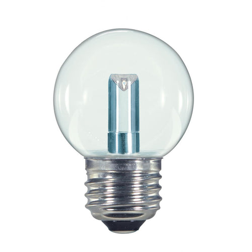 1.4W LED; G16 1/2; CLEAR; 2700K; MEDIUM BASE; 120V #S9158
