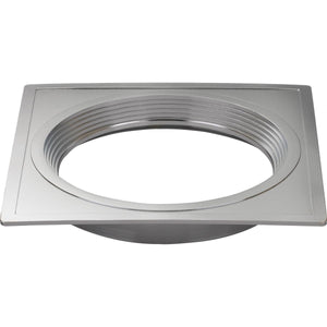"FREEDOM SQUARE 4"" TRIM OPTION FOR 4"" BASE UNIT; POLISHED NICKEL FINISH #S9529"