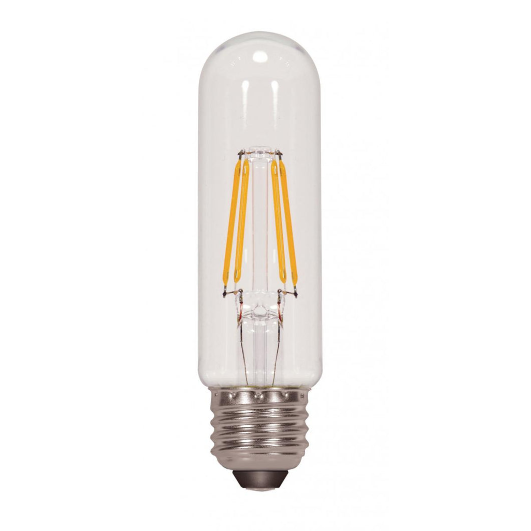 4.5 WATT T10 LED; CLEAR; MEDIUM BASE; 2700K; 430 LUMENS; 120 VOLT #S9580