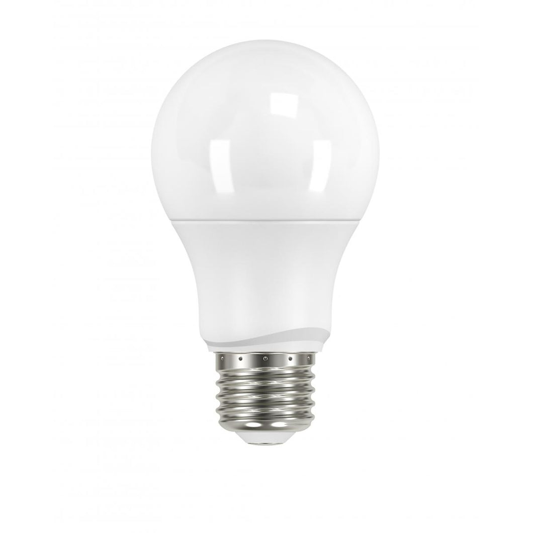 6 WATT; A19 LED; FROSTED; 3000K MEDIUM BASE; 220 DEG. BEAM ANGLE; 120 VOLT; NON-DIMMABLE #S9591