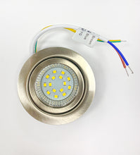 1.2W LED UNDER CABINET LIGHT BRUSHED NICKEL FINISH WARM WHITE