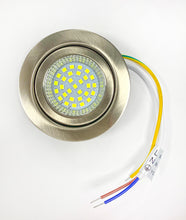4W LED UNDER CABINET LIGHT BRUSHED NICKEL FINISH DAY LIGHT