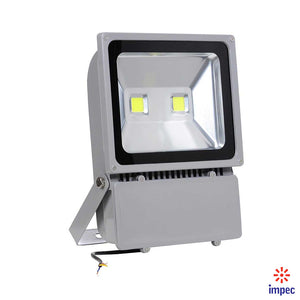 EKO-TEK FLOODLIGHT LED IP66 100W (2@50W) 6000K GR