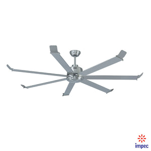 "BIG FAN 70"" BRUSHED NICKEL #1070-BN"