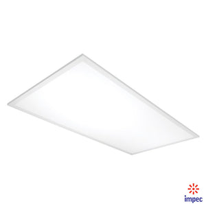 50W LED DIMMABLE FLAT PANEL 2' X 4' 5000K 100-277V * (SET OF 2 PCS)