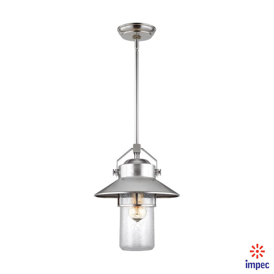 OUTDOOR 1 LIGHT PENDANT LANTERN #OL13911PBS